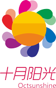 十月阳光logo